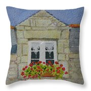 Bretagne Window Throw Pillow