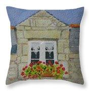 Bretagne Window Throw Pillow