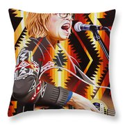 Brett Dennen Throw Pillow