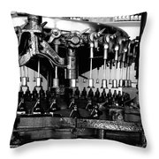 Brew Machine Throw Pillow