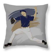 Brewers Shadow Player Throw Pillow
