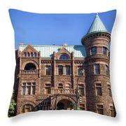 Brewmaster Castle - Washington Dc Throw Pillow