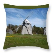 Brewster Windmill Throw Pillow