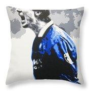 Brian Laudrup - Glasgow Rangers Fc Throw Pillow