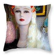 Bric-a- Brac Beauty Throw Pillow