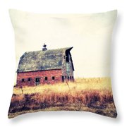 Brick Barn Ll Throw Pillow