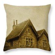 Brick House Throw Pillow