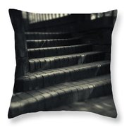 Brick Steps Throw Pillow