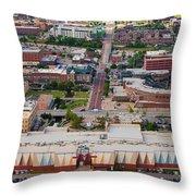 Bricktown Ballpark A Throw Pillow