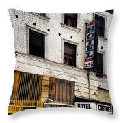 Brickwork  Throw Pillow by Gabe Arroyo