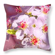 Bridal Bouquet By Jrr Throw Pillow
