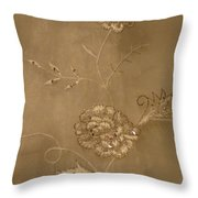 Bridal Embelishment Throw Pillow