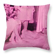 Bridal Pink By Jrr Throw Pillow