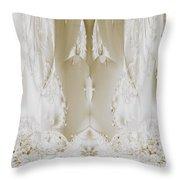 Bridal Satin Throw Pillow