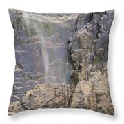 Bridal Veil Blowing In The Wind Throw Pillow