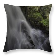 Bridal Veil Falls Throw Pillow