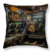 Briden-roen Sawmill Throw Pillow