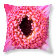 Bridesmaid Pink Throw Pillow