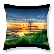 Bridge 3 Throw Pillow