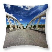 Bridge Arch Throw Pillow
