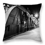 Bridge Arches Throw Pillow