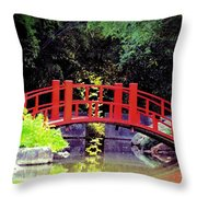 Bridge Front Throw Pillow