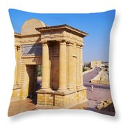 Bridge Gate In Cordoba Throw Pillow