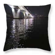 Bridge Korea Throw Pillow