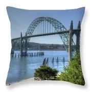 Bridge Newport Or 1 B Throw Pillow