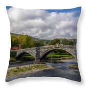 Bridge Of Swearing Throw Pillow