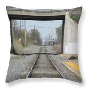 Bridge Overpass Throw Pillow