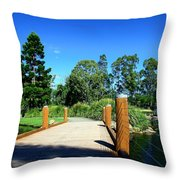 Bridge Perspective Throw Pillow