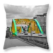 Bridge Pop Throw Pillow