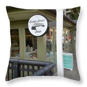 Bridge Street Soap Throw Pillow