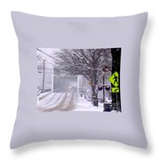 Bridge Street To New Hope Throw Pillow