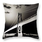 Bridge To Poughkeepsie 2 Throw Pillow