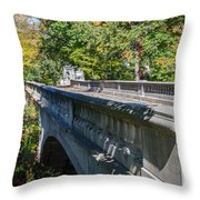 Bridge To Serenity Throw Pillow