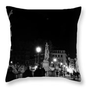 Bridge To St Peter's Throw Pillow