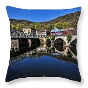Bridges To Buckland Throw Pillow