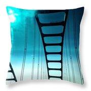 Bridges To Heaven Throw Pillow