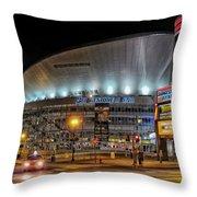 Bridgestone Arena - Nashville Throw Pillow