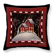 Bridgeton Lane Throw Pillow by Catherine Holman