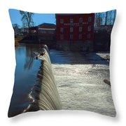 Bridgeton Mill Throw Pillow