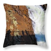 Bridging The Chasm 03 Throw Pillow
