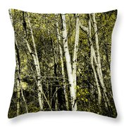 Briers And Brambles Throw Pillow