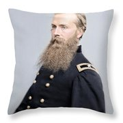 Brigadier General Charles K Graham Throw Pillow