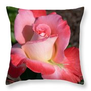Brigadoon Rose Throw Pillow