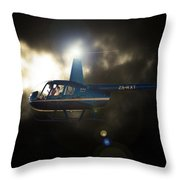 Bright 44 Throw Pillow