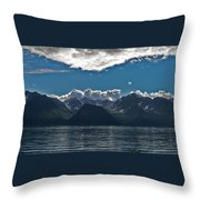 Bright And Cloudy Throw Pillow