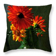 Bright And Dominant Throw Pillow